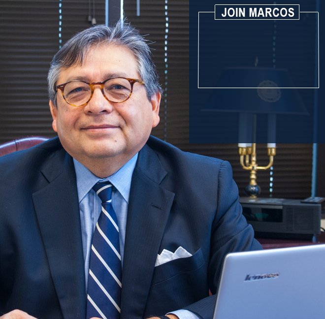 """A City Hall that listens. Schools of excellence. A booming economy. This is what Dallas deserves."" ~ Marcos Ronquillo"